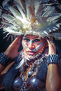 Taino culture representation by actors in a theme park. Representacion cultural del pueblo Taino en un parque tematico. Danza ritual y retratos. Editorial and Commercial Photographer based in Valencia, Spain |Portraits, Hospitality, News, Sports, Media Coverage for Events