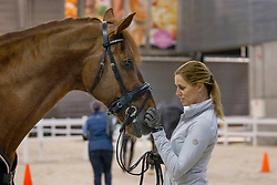 Witte-Vrees Madeleine, NED, Cennin<br /> Horse Inspection - The Dutch Masters<br /> © Hippo Foto - Sharon Vandeput<br /> 14/03/19