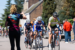 Esra Tromp (Parkhotel Valkenburg) - Flèche Wallonne Femmes - a 137km road race from starting and finishing in Huy on April 20, 2016 in Liege, Belgium.