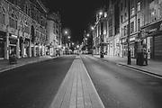 Oxford Street, London Soho  district during the Pandemic of Coronavirus April 23.  2020.<br /> Copyright Ki Price