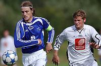 Fotball 2. divisjon 27.08.05 - Ranheim - Mo 4-2<br /> Kristian Juberg, Mo, Rainer Bergersen, Mo<br /> Foto: Carl-Erik Eriksson, Digitalsport