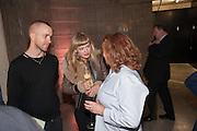 EDDIE PEAKE; CELIA HEMPTON; RACHEL WHITEREAD, The Tanks at Tate Modern, opening. Tate Modern, Bankside, London, 16 July 2012