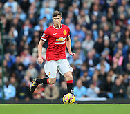 Manchester United's Paddy McNair in action<br /> <br /> - Barclays Premier League - Manchester City vs Manchester Utd - Etihad Stadium - Manchester - England - 2nd November 2014  - Picture David Klein/Sportimage