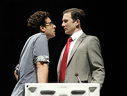 Angels In America<br /> at the Lyric Theatre, london, Great Britain<br /> press photocall<br /> June 26, 2007<br /> <br /> Adam Levy (as Louis)<br /> Jo Stone-Fewings (as Joe)<br /> <br /> <br /> Photograph by Elliott Franks