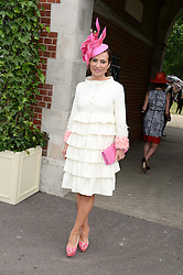 ELLA KRASNER at the 2nd day of the 2013 Royal Ascot Horseracing festival at Ascot Racecourse, Ascot, Berkshire on 19th June 2013.