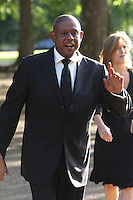 Forest Whitacker  at Nelson Mandelas Birthday party Hyde Park London