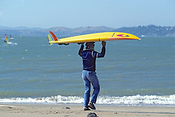 Man With Wind Surf Board