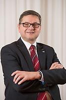 23 OCT 2014, BERLIN/GERMANY:<br /> Gerd Deimel, Vice President und Leiter Global Logistics Management LANXESS Deutschland GmbH, Hotel Intercontinental<br /> IMAGE: 20141023-02-039