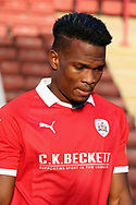 Barnsley forward Mamadou Thiam (26)  during the EFL Sky Bet League 1 match between Barnsley and Charlton Athletic at Oakwell, Barnsley, England on 29 December 2018.