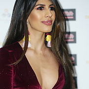 London, England, UK. 30th November 2017. Jasmin Walia attends the Urban Music Awards at Porchester Hall, London, UK.