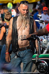 Rats Hole annual custom bike show in the Crossroads area of the Buffalo Chip during the Sturgis Black Hills Motorcycle Rally. SD, USA. Thursday, August 8, 2019. Photography ©2019 Michael Lichter.