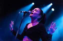 "© Licensed to London News Pictures. 13/03/2013. London, UK.   Jessie Ware performing live at O2 Shepherds Bush Empire. Jessica Lois ""Jessie"" Ware is a British singer-songwriter best known for her 2012 single ""Wildest Moments"".     Her debut album ""Devotion"" was nominated in the Album of the Year category of the 2013 Mercury Prize.  Photo credit : Richard Isaac/LNP"