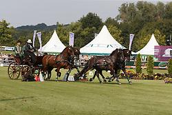 Dobrovitz Jozsef, (HUN), Amadeus, Carlo, Cassander T, Maestoso <br /> Cones Competition<br /> FEI European Championships - Aachen 2015<br /> © Hippo Foto - Dirk Caremans<br /> 21/08/15