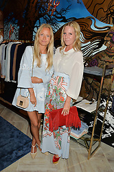 Left to right, MARTHA WARD and ALICE NAYLOR-LEYLAND at a party to celebrate the launch of Baar & Bass, 336 Kings Road, London on 9th September 2014.