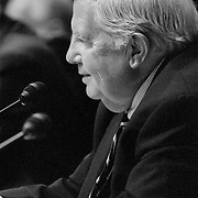 Fred Fielding at the 9/11 Commission's 9th Public Hearing, held in Washington DC. This was a special hearing to hear the testimony of National Security Adviser Condoleezza Rice.