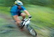 Mountain Bike racer.
