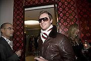 Maximillion Cooper, Make-A-Wish Charity Evening at Selfridges, Selfridges,  400 Oxford St. London. 17 December 2007. -DO NOT ARCHIVE-© Copyright Photograph by Dafydd Jones. 248 Clapham Rd. London SW9 0PZ. Tel 0207 820 0771. www.dafjones.com.