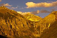 Ingram Falls, on the San Miguel Cirque, behind Telluride, Colorado USA