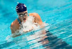 Anja Klinar of PK Gorenjska Banka Radovljica competes in 400m Medley during Slovenian Swimming National Championship 2014, on August 2, 2014 in Ravne na Koroskem, Slovenia. Photo by Vid Ponikvar / Sportida.com