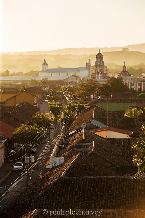 Cityscape of Granada, Nicaragua