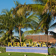 Puerto Maya Sign In Cozumel, Mexico