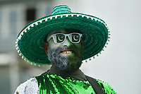 Cricket - 2019 ICC Cricket World Cup - Group Stage: Australia vs. Pakistan<br /> <br /> Pakistan fans in good spirits before the game, at County Ground, Taunton.<br /> <br /> COLORSPORT/ASHLEY WESTERN