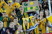 Wallabies fans, Rugby Championship. Australia v All Blacks at ANZ Stadium, Sydney, New Zealand. Saturday 18 August 2012. New Zealand. Photo: Richard Hood/photosport.co.nz