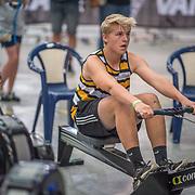 Joe Harcourt - U14 Race #4  09:15am<br /> <br /> <br /> www.rowingcelebration.com Competing on Concept 2 ergometers at the 2018 NZ Indoor Rowing Championships. Avanti Drome, Cambridge,  Saturday 24 November 2018 © Copyright photo Steve McArthur / @RowingCelebration