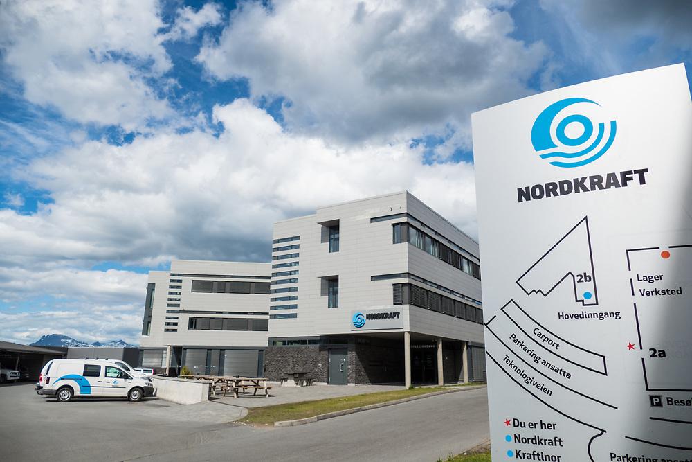 Nordkrafts siste administrasjonsbygg ble innviet i 2013. Det ligger rett ved administrasjonsbygget fra 2002.