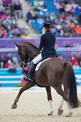 Balkenhol Anabel (GER) - Dablino<br /> Olympic Games London 2012<br /> © Dirk Caremans