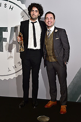 Babak Anvari and Martin Compston bei den British Independent Film Awards in London / 041216<br /> <br /> <br /> *** at the British Independent Film Awards in London on December 4th, 2016 ***