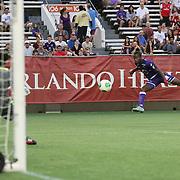 Orlando City Lions International USL Pro league friendly soccer match at the Florida Citrus Bowl on Saturday, on Saturday, June 22, 2013 in Orlando, Florida. (AP Photo/Alex Menendez)