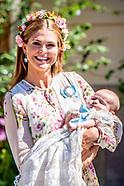 Drottningholm Palace Chapel- Princess Adrienne's christening