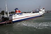 Stena Trader freight ferry, Stena Line, Hook of Holland, Holland