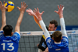 Jeroen Rauwerink of Dynamo in action during the second final league match between Amysoft Lycurgus vs. Draisma Dynamo on April 24, 2021 in Groningen.