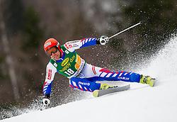 RICHARD Cyprien of France during the 2nd Run of 7th Men's Giant Slalom - Pokal Vitranc 2013 of FIS Alpine Ski World Cup 2012/2013, on March 9, 2013 in Vitranc, Kranjska Gora, Slovenia. (Photo By Vid Ponikvar / Sportida.com)
