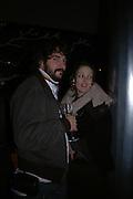 Bay Garnett and  Tom Craig. Launch of the Sunday Telegraph magazine 'Stella'. Momo, Berkeley St. London.   November 2005 . ONE TIME USE ONLY - DO NOT ARCHIVE © Copyright Photograph by Dafydd Jones 66 Stockwell Park Rd. London SW9 0DA Tel 020 7733 0108 www.dafjones.com