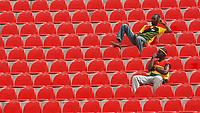 Photo: Steve Bond/Richard Lane Photography.<br /> Ghana v Nigeria. Africa Cup of Nations. 03/02/2008. Ghana fans arrive early