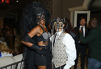 Adrienne Maloof And Vivica A. Fox Haunted Mansion Party held at Private Residence on October 26, 2019 in Beverly Hills, California, United States (Photo by © VipEventPhotography.com