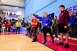 Aerospace Bristol competition at half time - Photo mandatory by-line: Ryan Hiscott/JMP - 13/04/2019 - BASKETBALL - SGS Wise Arena - Bristol, England - Bristol Flyers v Manchester Giants - British Basketball League Championship