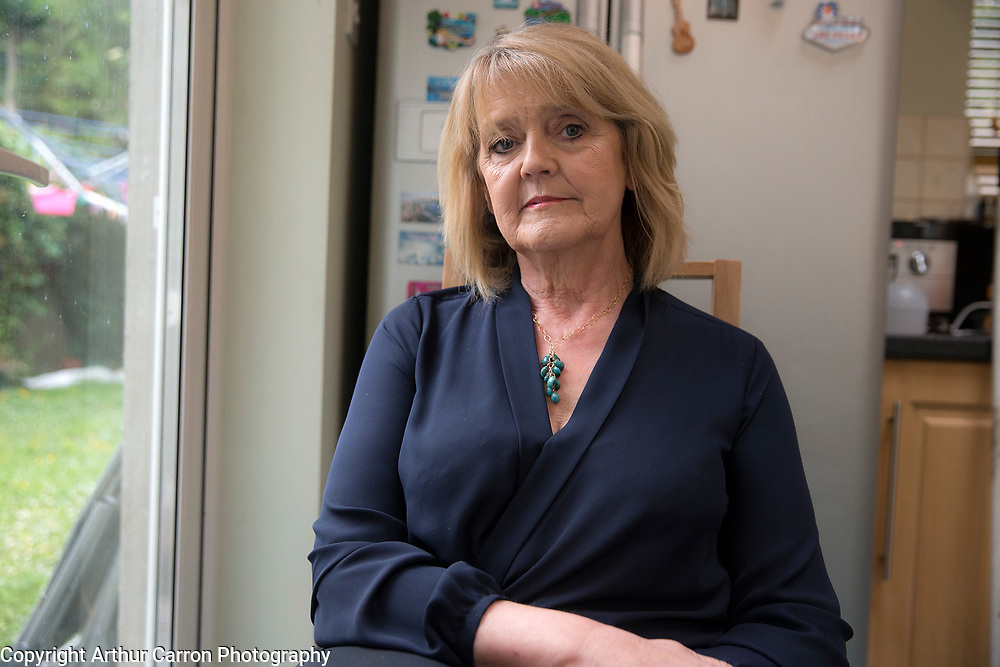 9/7/15 Marian Quinlan, who was secretary and close friend of the late Minister for Finance Brian Lenihan, pictured at her home in Clonsilla. Picture:Arthur Carron