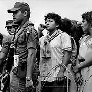 Nicaraguan refugees in Honduras.