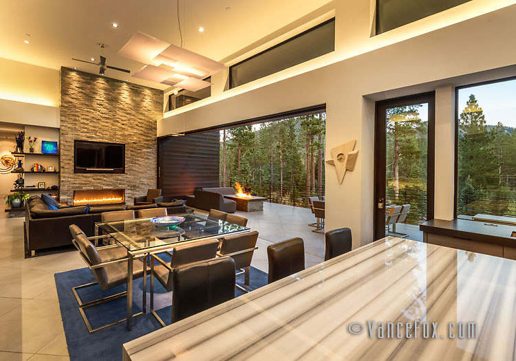 Martis Camp Home 161, Martis Camp, Truckee, Ca by Ryan Group Architecture and Lamperti Construction. Vance Fox Photography