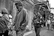 2011 September 25 - Pedestrians, Robson Street, Vancouver, BC, Canada. Copyright Richard Walker