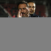 Gaziantepspor's and Fenerbahce's during their Turkish Spor Toto Super League soccer match Gaziantepspor between Fenerbahce at the Kamil Ocak stadium in Gaziantep Turkey on Sunday 06 December 2015. Photo by Kurtulus YILMAZ/TURKPIX