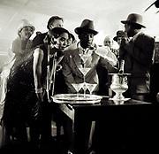 Reggae Philhamonic Ochestra video shoot 1988