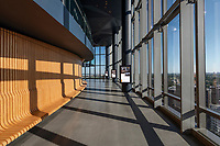 Interior image of Central Place Office Building in Rosslyn Virginia by Jeffrey Sauers of Commercial Photographics, DC Architectural Photographer