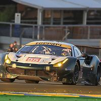 #55, Spirit of Race, Ferrari 488 GTE, driven by: Duncan Cameron, Aaron Scott, Marco Cioci, 24 Heures Du Mans 85th Edition, 18/06/2017,