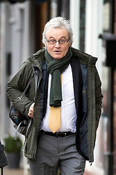 © Licensed to London News Pictures. 21/11/2017. Wakefield, UK. Don Maguire (husband of Ann Maguire) arrives at Wakefield Coroners Court this morning for the seventh & final day of the Ann Maguire inquest. Mrs Maguire, a 61 year old Spanish teacher, was stabbed to death by Will Cornick at Corpus Christi Catholic College in Leeds in April 2014. The school pupil, who was 15 at the time, admitted murdering Mrs Maguire and was given a life sentence later that year. Since then, some of Mrs Maguire's family have campaigned for further investigation into her death as they believe more could have been done to prevent the tragedy. Photo credit: Andrew McCaren/LNP