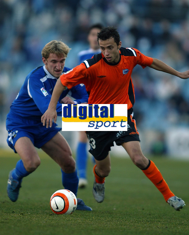 Fotball , 5. januar 2006 , Getafe - Alavés , Alaves , nene - diego rivas